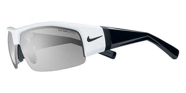 0793475dfee0 NIKE Sunglasses SQ EV0560 107 Shiny Wht Blk Gray 67MM - Elite ...