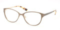 TORY BURCH Eyeglasses TY 1030 434 Lt Br Gold 51MM