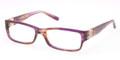 TORY BURCH Eyeglasses TY 2024 1079 Light Br Horn 53MM