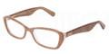 Dolce & Gabbana Eyeglasses DG 3168 2743 Glitter Br 53MM
