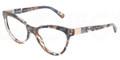 Dolce & Gabbana Eyeglasses DG 3169 2734 Br Blue Marble 51MM