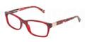Dolce & Gabbana Eyeglasses DG 3170 2736 Red Transp 51MM