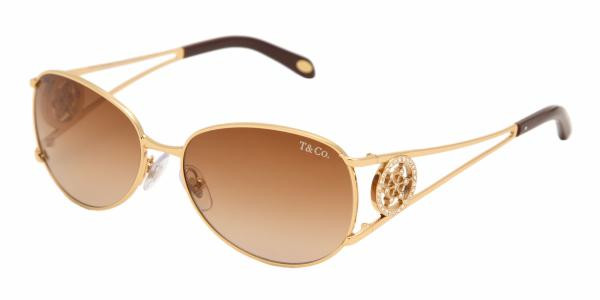 e6ed5a7a16ee Tiffany   Co TF3004B Sunglasses 60023B GOLD Br Grad - Elite Eyewear ...