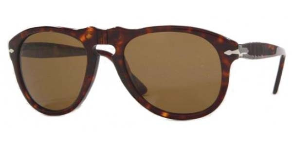 ee24445e1efa3 PERSOL Sunglasses PO 649 24 57 Havana 52MM - Elite Eyewear Studio