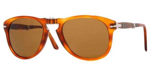 4ee0de6e172e5 PERSOL Sunglasses PO 714 96 33 Light Havana 52MM - Elite Eyewear Studio