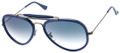 Ray Ban RB3428 Sunglasses 004/3F Gunmtl Blue 58mm