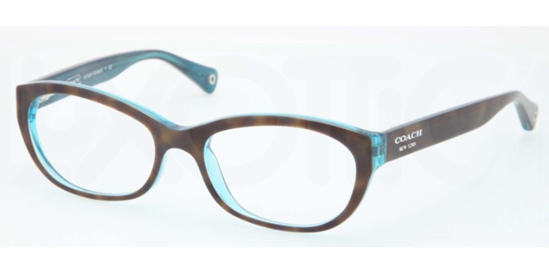 8ed5705dbe3f COACH Eyeglasses HC 6041 5116 Tort Teal 51MM - Elite .