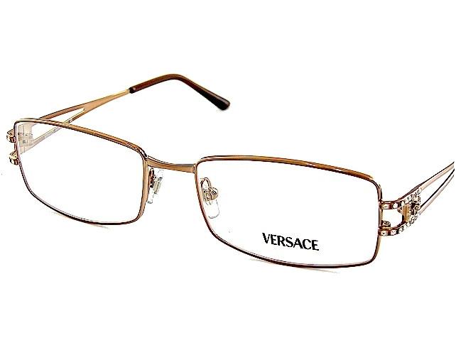 0357870b684d VERSACE VE 1092B Eyeglasses 1045 Br 51-16-130 - Elite Eyewear Studio