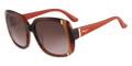 SALVATORE FERRAGAMO Sunglasses SF672S 216 Striped Br 56MM