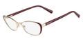 VALENTINO Eyeglasses V2119 606 Rouge Noir 51MM