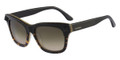 VALENTINO Sunglasses V670S 013 Blk Havana Honey 53MM