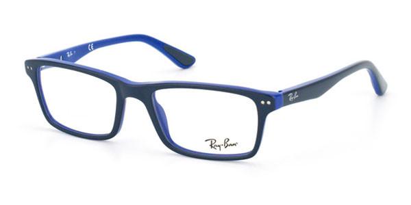 0d5aabbf2b Ray Ban Eyeglasses RX 5288 5137 Grey Blue 52MM - Elite Eyewear Studio