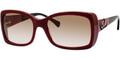 Alexander McQueen 4146 Sunglasses 1HXS2 Burg Blk