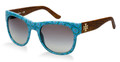 TORY BURCH Sunglasses TY 9026 120911 Blue Geometric 55MM