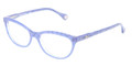 D&G Eyeglasses DD 1245 2741 Glitter Blue 51MM