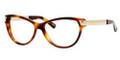 GUCCI Eyeglasses 3652 0CRX Havana Gold 54MM