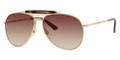 GUCCI Sunglasses 2235/S 0J5G Gold 59MM