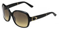 GUCCI Sunglasses 3638/S 075Q Blk Leather 58MM