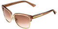 GUCCI Sunglasses 4246/S 015I Gold Nude 55MM