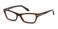 TOM FORD Eyeglasses TF 5265 052 Havana 53MM