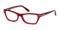 TOM FORD Eyeglasses TF 5265 068 Red 53MM
