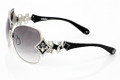 Affliction ANGELINA Sunglasses Black/Gunmetal 63mm