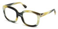 TOM FORD Eyeglasses TF 5315 062 Br Horn 53MM