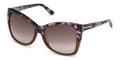 TOM FORD Sunglasses TF 0295 55Z Colored Havana 57MM
