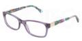 Dolce & Gabbana Eyeglasses DG 3170 2735 Violet Transp 53MM