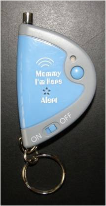 Image of CL-305 blue replacement key chain remote