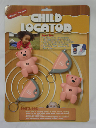 CL-103 pink two pack child locator tracker system