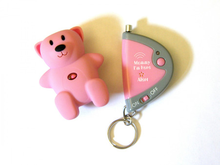 NEW!!! Mommy I'm Here CL-305HP HOT PINK CHILD LOCATOR WITH ADVANCED AUTO ALERT FEATURE!!!