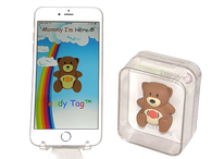 A top-quality teddy tag that tracks your child