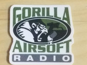 Gorilla Airsoft Radio Sticker