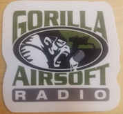 Gorilla Airsoft Radio sticker large