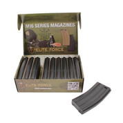 Elite Force M4/M16 box of 10 140rd Mid cap magazine Black