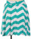 Aqua Chevron Bow Skirt www.tinytulip.com Back