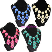 Bubble Bib Fashion Necklace Free Shipping