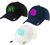 Monogrammed Nike Dri Fit Baseball Hat www.tinytulip.com
