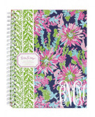 Lilly Pulitzer Trippin' and Sippin' Monogrammed Mini Notebook www.tinytulip.com