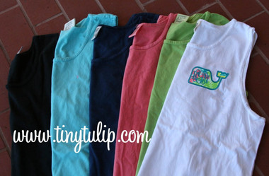 Lilly Pulitzer Whale Applique Bro Tank www.tinytulip.com