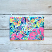 Lilly Pulitzer Monogrammed Pencil Case Multi Besame Mucho