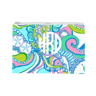 Lilly Pulitzer Monogrammed Pencil Case Conch Republic