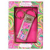 Lilly Pulitzer All Nighter Key Fob www.tinytulip.com