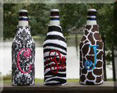 Black and White Damask, Black and White Zebra, Brown and White Giraffe
