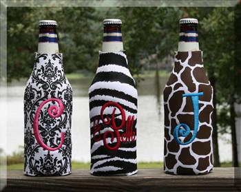 Black and White Damask, Black and White Zebra, Brown and White Giraffe