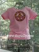 Applique Peace Tee