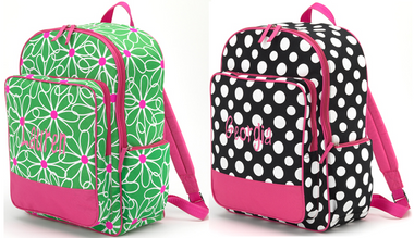 Polka Dot & Flower Backpacks