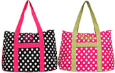 Polka Dot Large Totes
