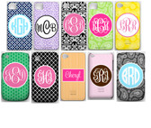 Monogrammed Phone Cover iphone blackberry samsung www.tinytulip.com